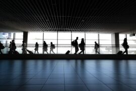 Hacks to get through the airports fast