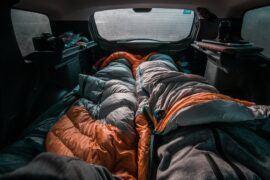 is it legal sleeping in the car in the US